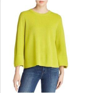 Eileen Fisher Knit Swearer Top Organic Linen